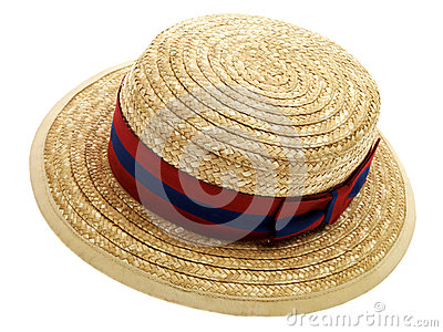 School Boater Hat