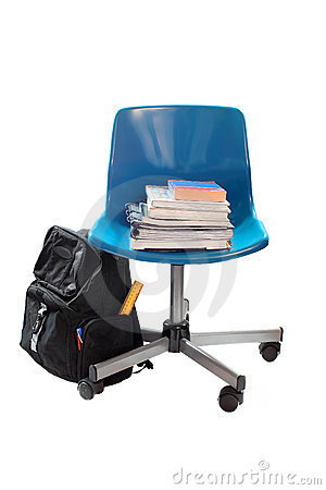 School book chair