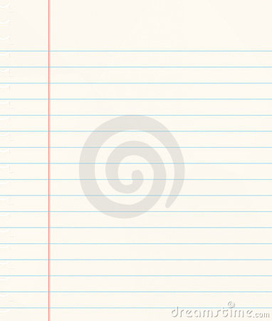 School Book With Lined Page Royalty Free Stock Photo - Image: 2929055