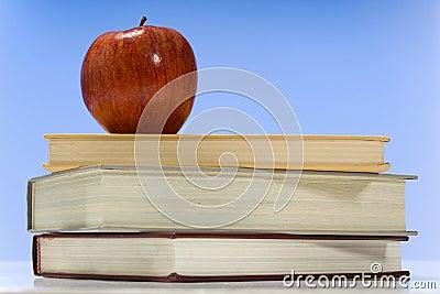 School books and Apple