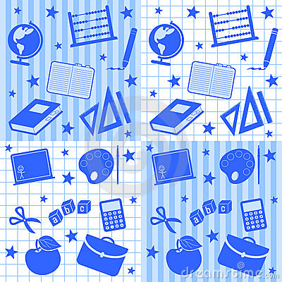 School Boy Seamless Tiles