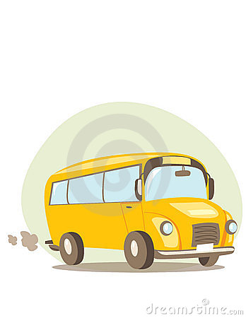 Free School Bus Royalty Free Stock Photography - 10818277