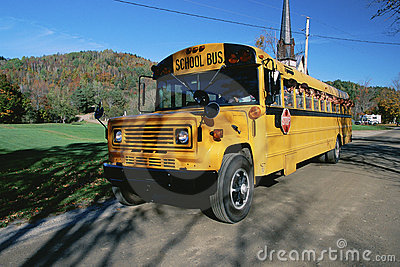 School bus Editorial Photo