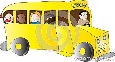 School Bus Children