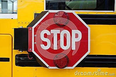 School bus stop