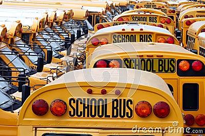 School Bus Yard