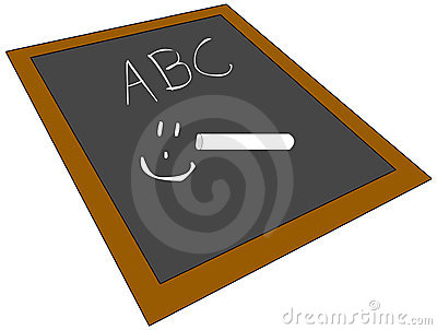 School Chalk Board