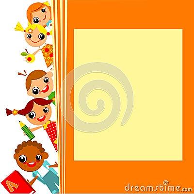School childrens background