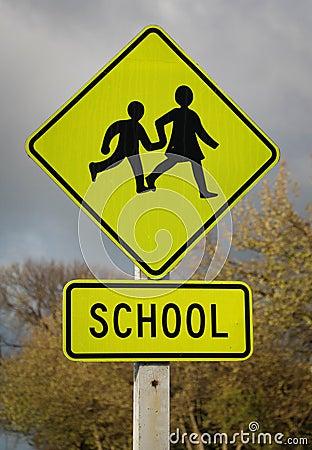 School Children Sign