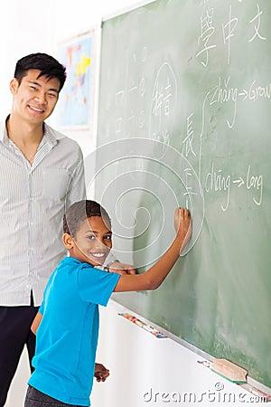 School chinese language