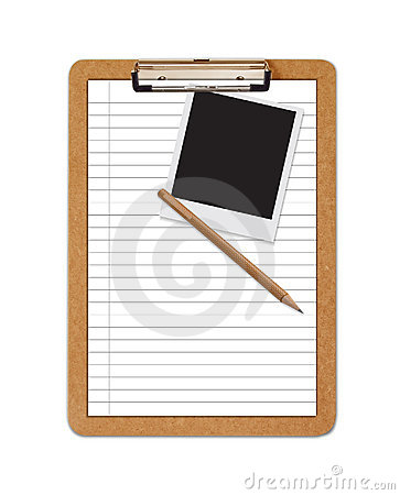 School Clipboard ruled paper