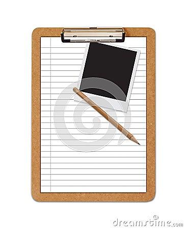 School Clipboard ruled paper