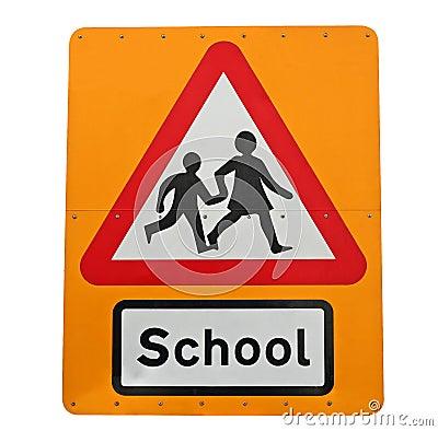 School crossing.