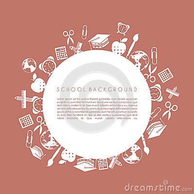 Free School Design Royalty Free Stock Image - 31291306