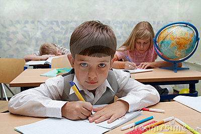 School. Different Characters Stock Images - Image: 3001304