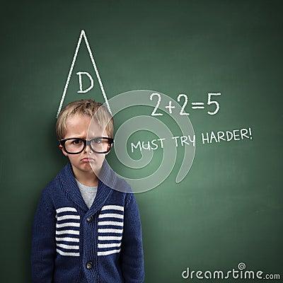 Free School Dunce Stock Image - 43970211