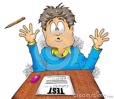 School Exam Terror
