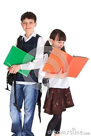 School Going Siblings