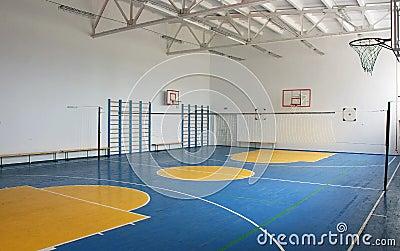 School gym indoor