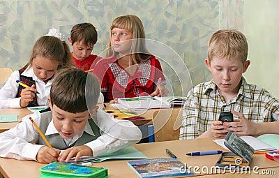 School Сhildren at classroom