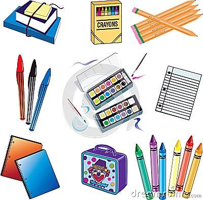 Free School Icons Stock Photos - 10754233