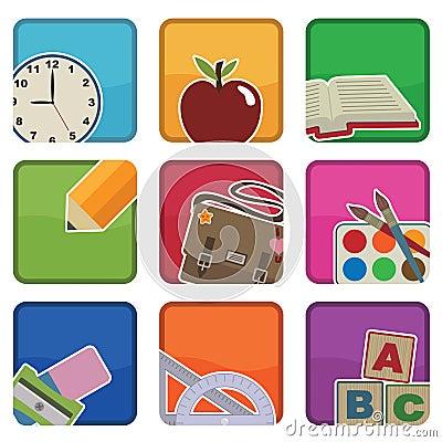 School icons
