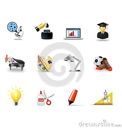 School icons, part 1