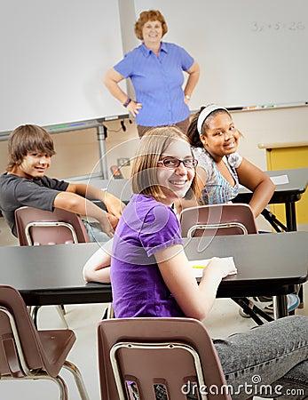 School Kids in Class
