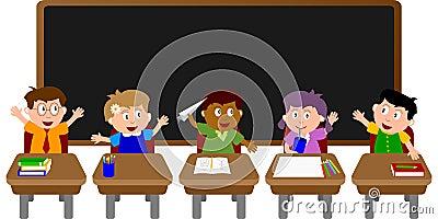 School Kids Classroom [2]