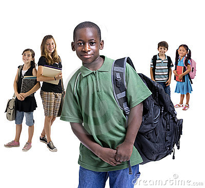 Free School Kids Diversity Royalty Free Stock Images - 3393149
