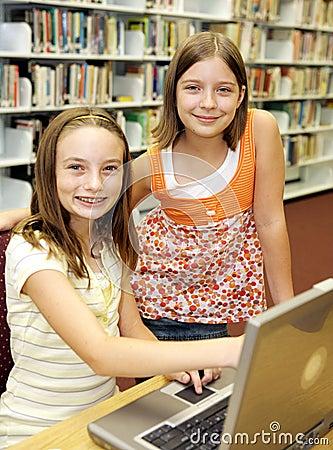 School Library - Attitude