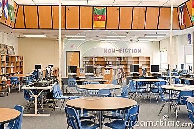 School library media center