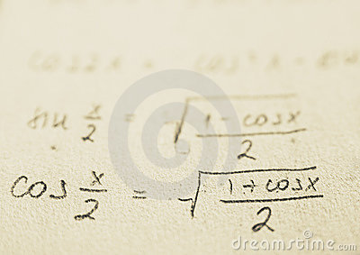 School - Math formulas