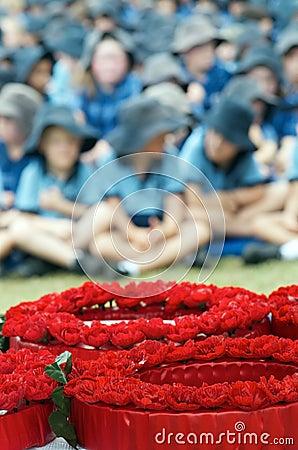School Memorial Service Editorial Stock Image