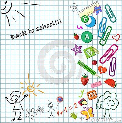 School notepad
