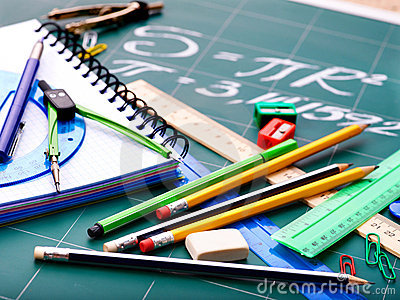 School office supplies .