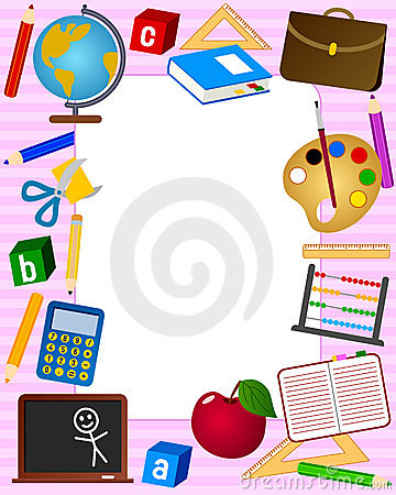 Free School Photo Frame [2] Royalty Free Stock Photography - 10984367