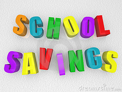School Savings - Refrigerator Magnets