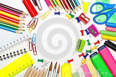 School stationery framing for school and office