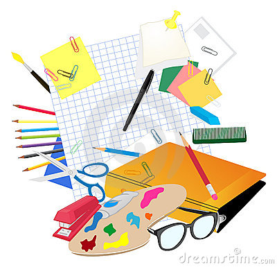 Illustration what are the main subjects in school