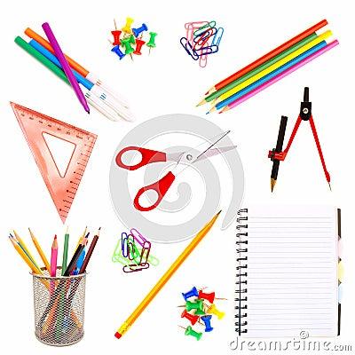 Free School Supplies Stock Photography - 20725912