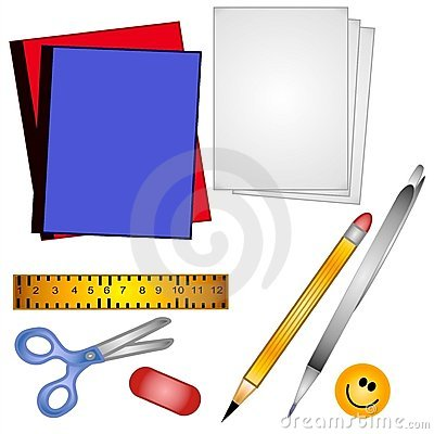 School Supplies Clip Art 2