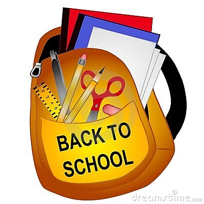 Free School Supplies Clip Art  Stock Photos - 2887373