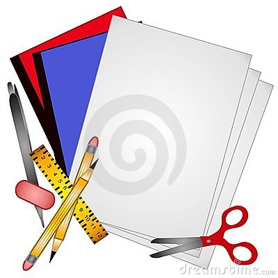 School Supplies Clip Art 3