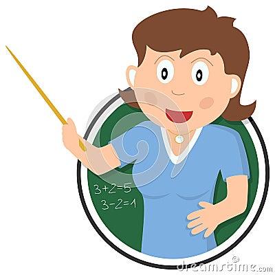 Free School Teacher Logo Stock Photography - 26558652