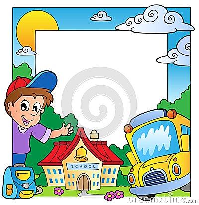 School theme frame 1