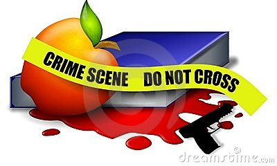 School Violence Crime Scene Tape