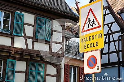 School zone signage