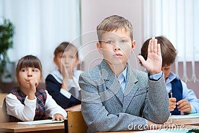 Schoolboy answer on question