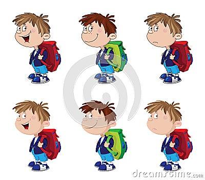 Schoolboy funny set